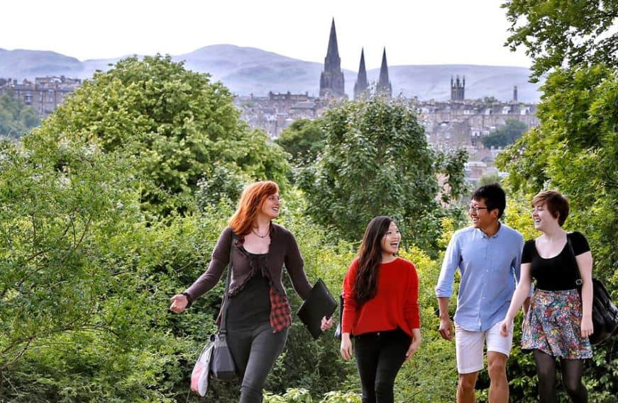 edinburgh students